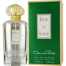 Live In Love by Oscar De La Renta EDP Spray - 3.4 oz.