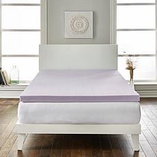 "Loftworks 2"" Lavender Infused Extra Soft Mattress Foam Topper - Twin"