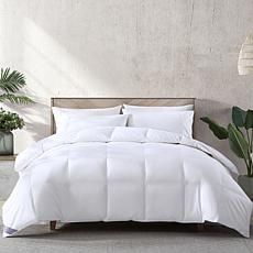 Loftworks White Down Blend Comforter w/ High-loft Medium Warmth, F/Q