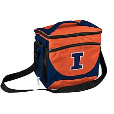 Logo Chair 24-Can Cooler - University of Illinois