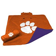Logo Chair All Weather Blanket - Clemson University