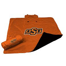 Logo Chair All-Weather Blanket - Oklahoma State Un.