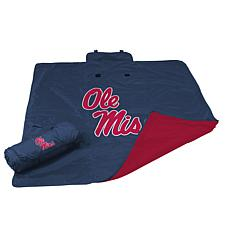 Logo Chair All-Weather Blanket - Un. of Mississippi