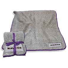 Logo Chair Officially Licensed NFL Frosty Fleece - Baltimore Ravens