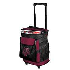 Logo Chair Rolling Cooler - Texas A&M University