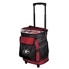 Logo Chair Rolling Cooler - University of Georgia