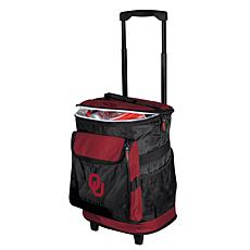 Logo Chair Rolling Cooler - University of Oklahoma