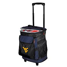 Logo Chair Rolling Cooler - West Virginia University