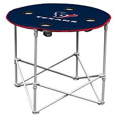 Logo Chair Round Table - Houston Texans
