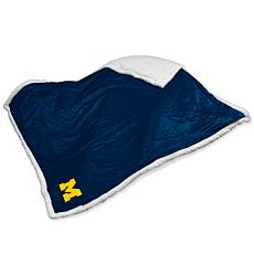 Logo Chair Sherpa Throw - Michigan