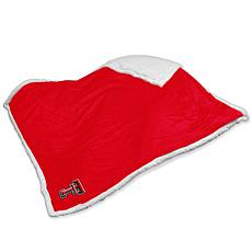 Logo Chair Sherpa Throw - Texas Tech' University