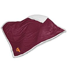 Logo Chair Sherpa Throw - Virginia Tech' University