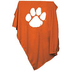 Logo Chair Sweatshirt Blanket - Clemson University