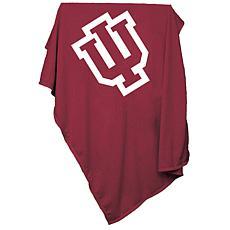 Logo Chair Sweatshirt Blanket - Indiana University