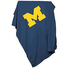 Logo Chair Sweatshirt Blanket - University of Michigan