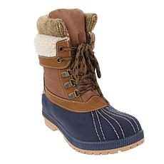 London Fog Mitten Leather Cold-Weather Boot