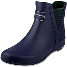 London Fog PICCADILLY Pull-On Ankle Rain Boot