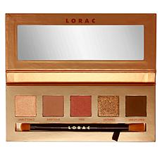 LORAC Brazen Unzipped Eyeshadow Palette with Brush