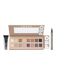 LORAC Pro 3 Eyeshadow Palette Set with Primer & Liner