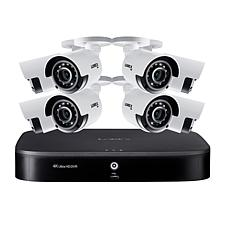 Lorex 4K UHD 8-Channel Security System w/2TB DVR & 8 UHD Cameras