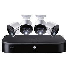 Lorex 4K Ultra HD Analog 8-Channel Security System w/2TB DVR & 4 Cams