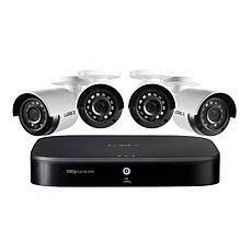 Lorex Full HD 8-Channel Security System w/1TB DVR & 4 HD Cameras