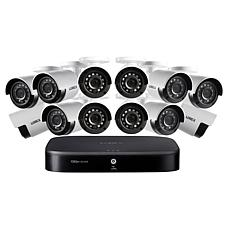 Lorex HD 16-Channel Security System w/2TB DVR & 12 HD Cameras