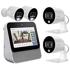 Lorex Home Center w/2 1080p Outdoor Wi-Fi Cameras & 2 Add-On Cameras