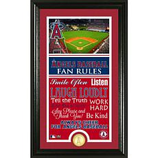 Los Angeles Angels Fan Rules Supreme Bronze Coin Photo Mint
