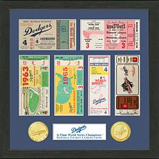 Los Angeles Dodgers 6-Time World Series Ticket Collection