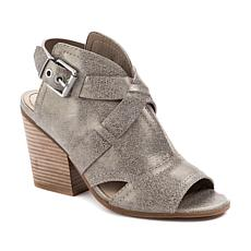 Lucca Lane Analise Suede Open-Toe Shootie