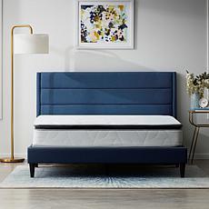 """Lucid 10"""" Refresh Luxe Pillowtop Hybrid California King Mattress"""