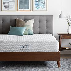 "LUCID Comfort Collection 10"" Plush Memory Foam Mattress - Queen"