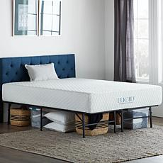Lucid Comfort Collection Platform Queen Bed Frame