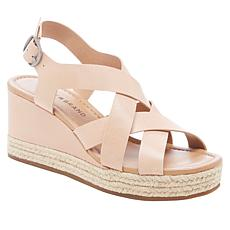 ad306a92eb8 Lucky Brand Baymeer Leather Espadrille Wedge Sandal