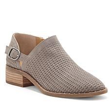 Lucky Brand Gahiro 2 Leather Perforated Shootie