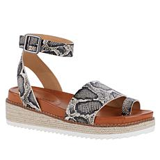 Lucky Brand Itolva Leather Espadrille Toe Loop Sandal