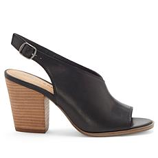 Lucky Brand Ovrandie Leather Slingback Shootie