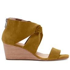 Lucky Brand Tammanee Suede Wedge Sandal