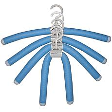 Luxury Living Bumps Be-Gone Blue Hangers - 10-pack