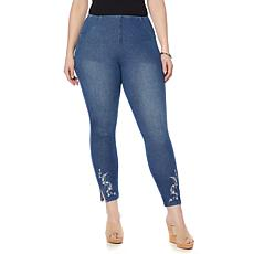 LYSSE Cooper Embroidered Denim - Plus