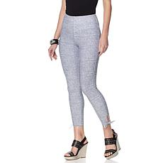 LYSSE Cropped Cotton Legging with Tie