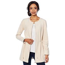 LYSSE Faux Suede Anorak Jacket - Plus