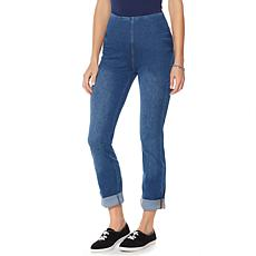 LYSSE Smoothing Waist Stretch Boyfriend Denim - Plus