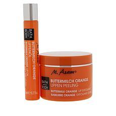 M. Asam Buttermilk Orange Lip Oil & Lip Exfoliant