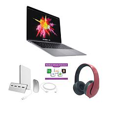 """MacBook Air 13"""" Apple M1 512GB SSD with Accessories - Gray/Red"""