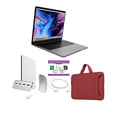 """MacBook Pro 13"""" Apple M1 512GB SSD with Accessories - Gray/Red"""