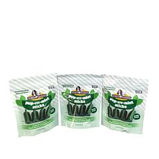 Macs & Buddy Grain-Free Puprrrmint Stick Dog Treats 3-pack