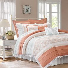Madison Park Dawn 9-Piece Cotton Percale Comforter Set - Cal King