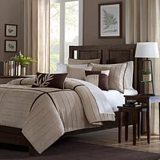 Madison Park Dune Comforter Set Full Beige